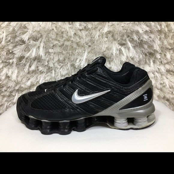 662da61191bde1 Nike Shox TL 4 Running Shoes Black Gray 9.5. M 5b9334da534ef9857f2ec34a